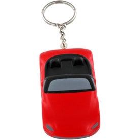 Custom Convertible Car Key Chain Stress Ball
