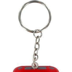 Monogrammed Convertible Car Key Chain Stress Ball
