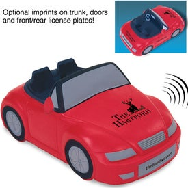 Convertible Car Stress Ball with Sound