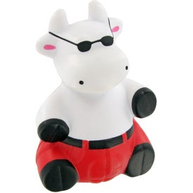 Cool Bull Stress Toy Printed with Your Logo