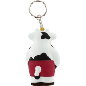 Cool Cow Key Ring Stress Reliever for Marketing