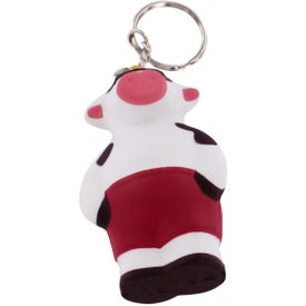 Cool Cow Key Ring Stress Reliever with Your Slogan