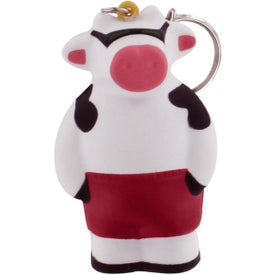 Logo Cool Cow Key Ring Stress Reliever