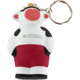 Cool Cow Key Ring Stress Reliever