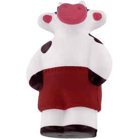 Imprinted Cool Cow Stress Reliever