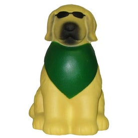 Monogrammed Cool Dog Stress Toy