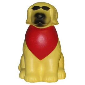Cool Dog Stress Toy Printed with Your Logo