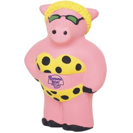 Cool Pig Stress Reliever Giveaways