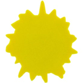Imprinted Cool Sun Stress Ball