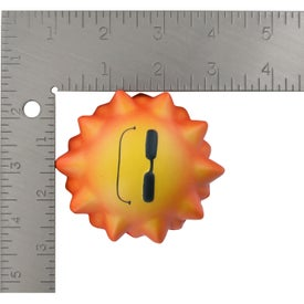 Cool Sun Wobbler Stress Ball with Your Logo