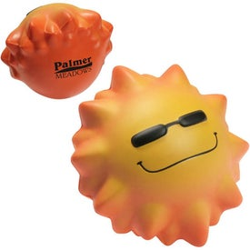 Cool Sun Wobbler Stress Ball Printed with Your Logo