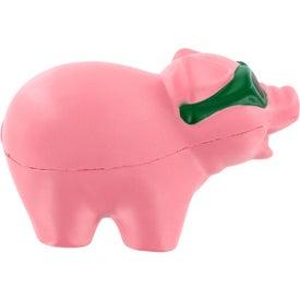 Cool Pig Stress Ball Memo Holder