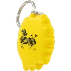Branded Cool Sun Key Chain Stress Ball