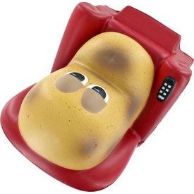 Personalized Couch Potato Stress Ball
