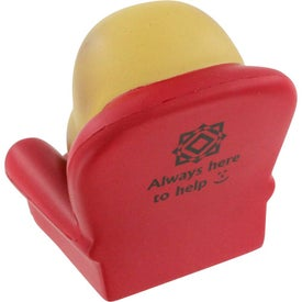 Promotional Couch Potato Stress Ball