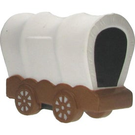 Covered Wagon Stress Ball Branded with Your Logo