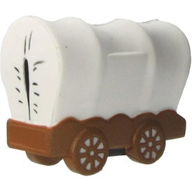 Personalized Covered Wagon Stress Ball