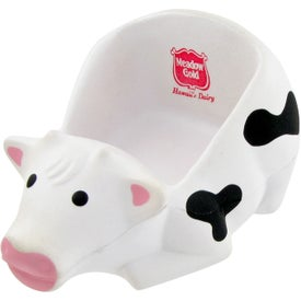Cow Cell Phone Holder Stress Toy Printed with Your Logo