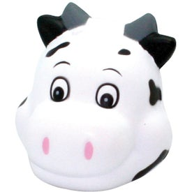 Custom Cute Cow Head Stress Reliever