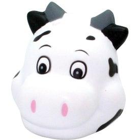 Custom Cute Cow Head Stress Reliever