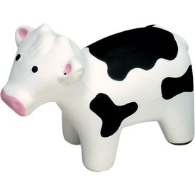 Printed Milk Cow Stress Ball