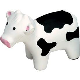 Printed Milk Cow Stress Ball