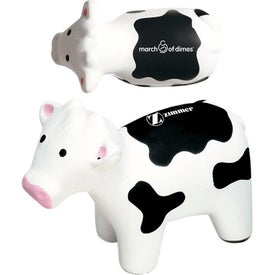 "Milk Cow Stress Ball (4.25"" x 3.5"" x 2"")"