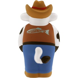 Cowboy Cow Stress Reliever