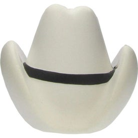 "Cowboy Hat Stress Ball (3.25"" x 3"" x 3.25"")"