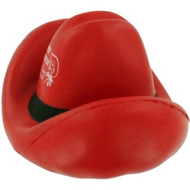 Cowboy Hat Stress Ball Printed with Your Logo