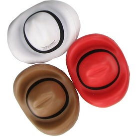 Customized Cowboy Hat Stress Ball