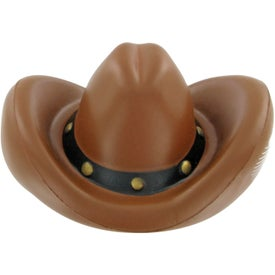 Promotional Cowboy Hat Stress Toy