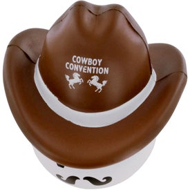 Promotional Cowboy Mad Cap Stress Ball