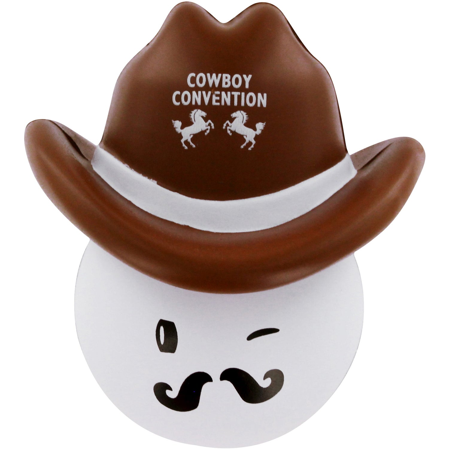 288452f706e Promotional Cowboy Mad Cap Stress Balls with Custom Logo for  2.50 Ea.