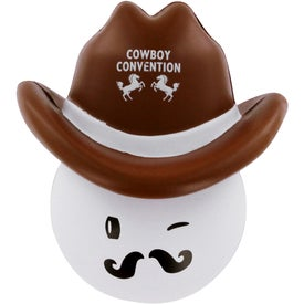 Cowboy Mad Cap Stress Ball for Your Church