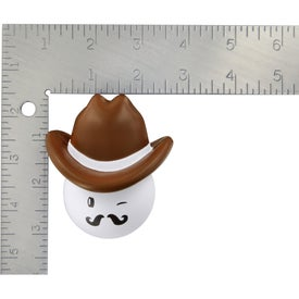 Cowboy Mad Cap Stress Ball for your School