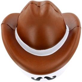 Monogrammed Cowboy Mad Cap Stress Ball