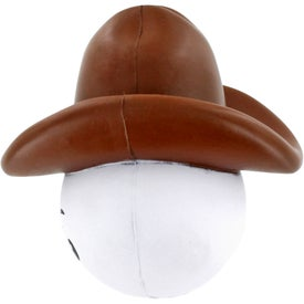 Cowboy Mad Cap Stress Ball for Customization