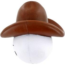Cowboy Mad Cap Stress Ball for Customization