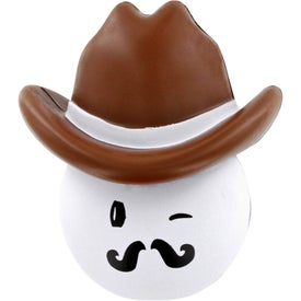 Cowboy Mad Cap Stress Ball