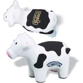 Cow Stress Reliever With Black Spots for Your Company