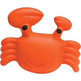 Crab Stress Ball Printed with Your Logo