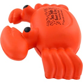 Crab Stress Ball with Your Logo