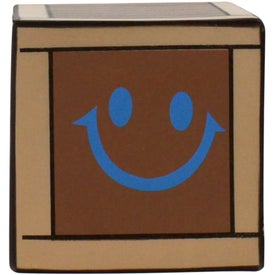 Crate Stress Reliever Imprinted with Your Logo
