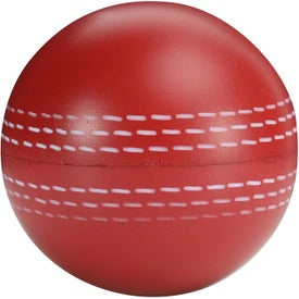 Custom Cricket Ball Stress Toy