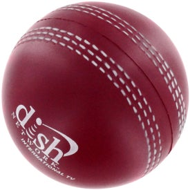 Cricket Ball Stress Reliever Printed with Your Logo