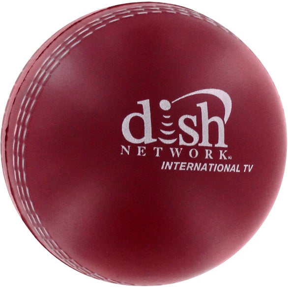 Red Cricket Ball Stress Reliever