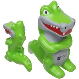 Crocodile Mascot Stress Ball