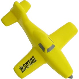 Crop Duster Plane Stress Ball Giveaways