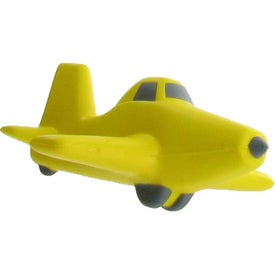 Logo Crop Duster Plane Stress Ball